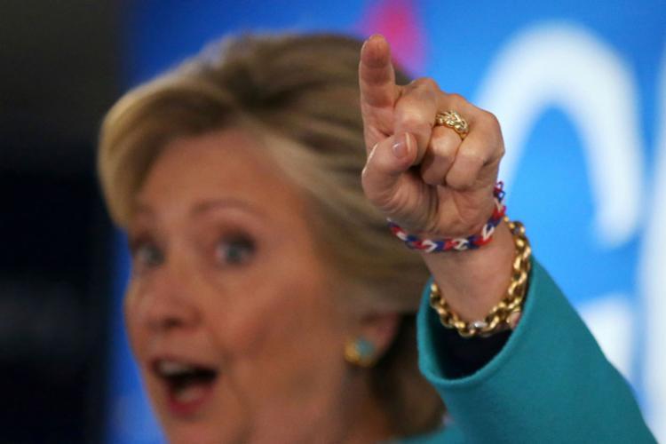 Hillary e Trump participam de novo debate na próxima quarta-feira - Foto: Lucy Nicholson | Reuters