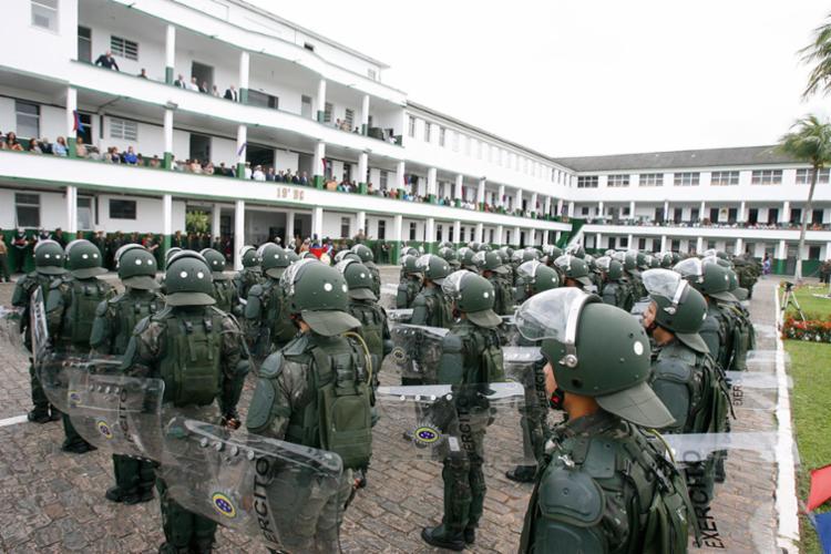 Exército inscreve para seleção de militares temporários até o dia 30 - Foto: Edilson Lima   Ag. A TARDE   25.08.2016
