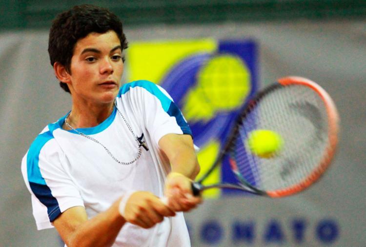 Natan garantiu vaga para disputar o Le Mondial Lacoste, em novembro - Foto: Gabriel Heusi | Divulgação