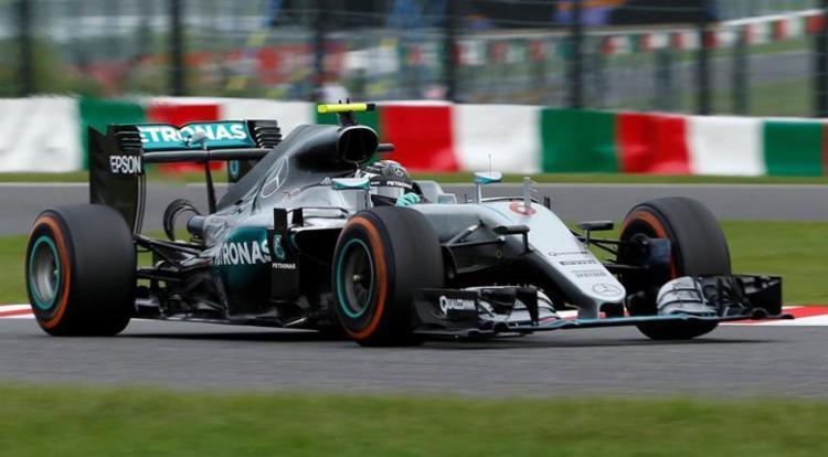 Nico Rosberg durante prova em Suzuka - Foto: Toru Hanai | Reuters