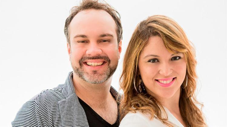 Banda é formada pelo casal Jordan Campos e Clarissa Noronha - Foto: Divulgação