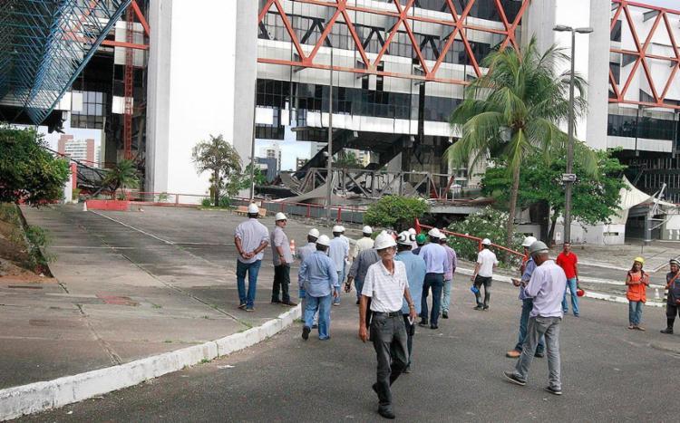 Engenheiros e técnicos estiveram em áreas tidas como seguras - Foto: Pedro Moraes (Gov-BA) l Divulgação