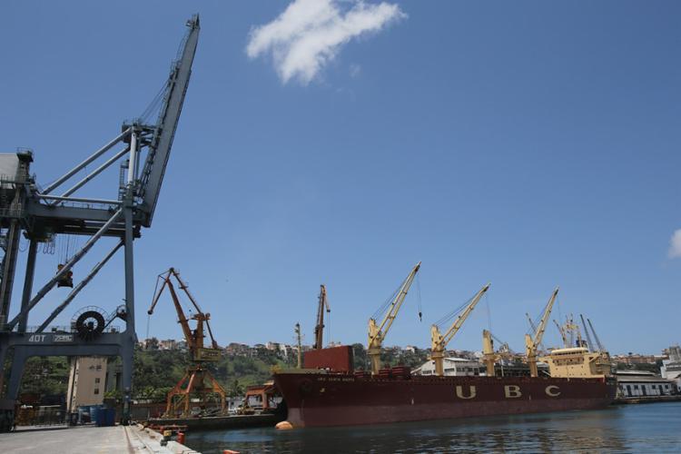 Os dois contratos para o porto de Salvador são prioridade do presidente Temer - Foto: Carlos Casaes l AG. ATARDE l 29.09.2014