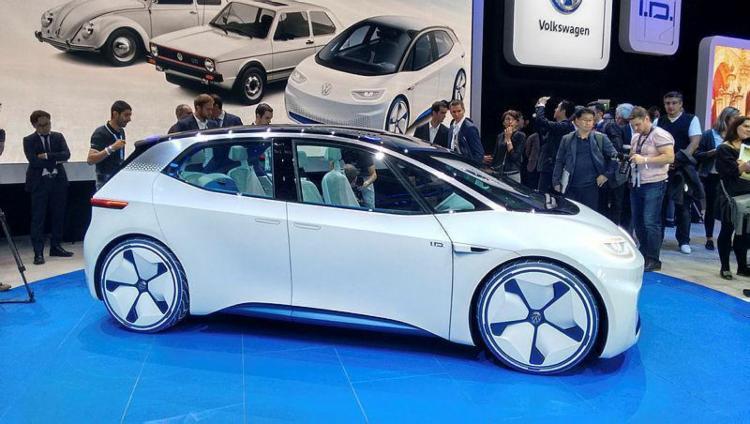 O VW I.D. é um conceito autônomo cmo venda a partir de 2020 - Foto: Roberto Nunes
