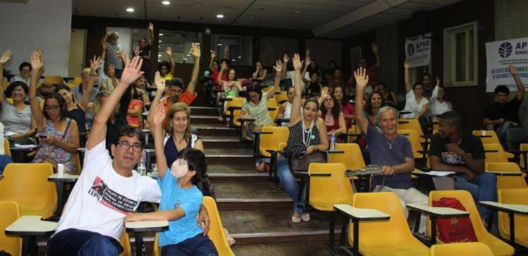 Assembleia aconteceu nesta segunda-feira, 17 - Foto: Divulgação | Apub