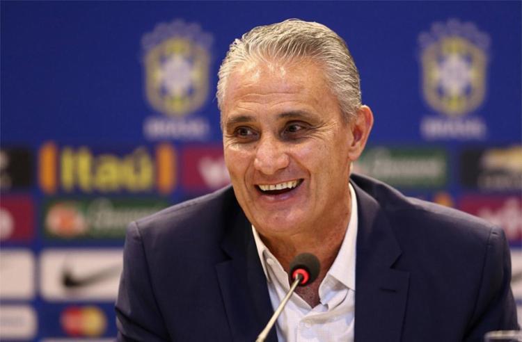 Tite convocou Seleção Brasileira para jogos contra Uruguai e Paraguai - Foto: Lucas Figueiredo l CBF