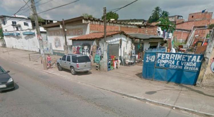Crime aconteceu na rua Celika Nogueira, em Águas Claras - Foto: Reprodução | Google Maps