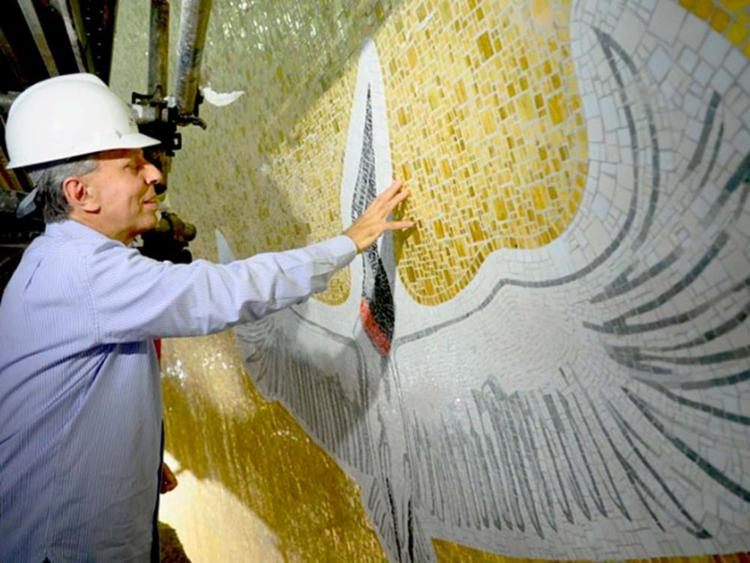 Cláudio Pastro, considerado o mais importante artista sacro brasileiro - Foto: Thiago Leon   Santuário Nacional