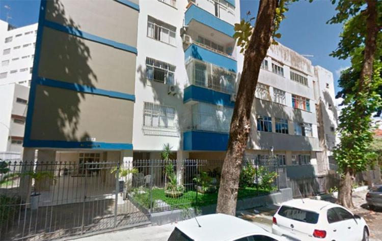 Delegada acredita que ladrão usou grades de outros apartamentos para escalar prédio - Foto: Reprodução   Google Maps