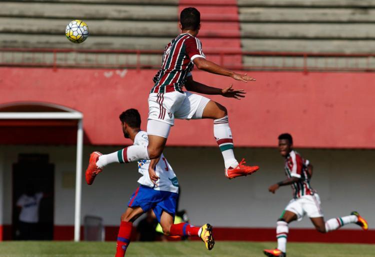 O Bahia confirmou a vantagem e se classificou à próxima fase - Foto: Reprodução | Twitter | Fluminense F.C