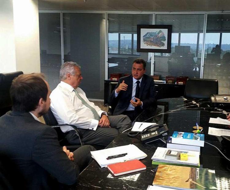 Rui Costa se reuniu com diretor da ANTT - Foto: Camila Peres | GovBA