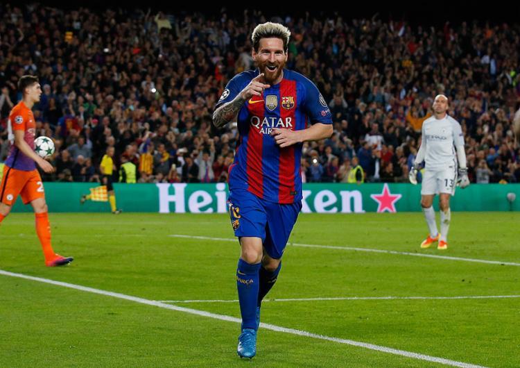 Em novo reencontro com Pep, Messi brilha e Barça goleia - Foto: Albert Gea l Reuters