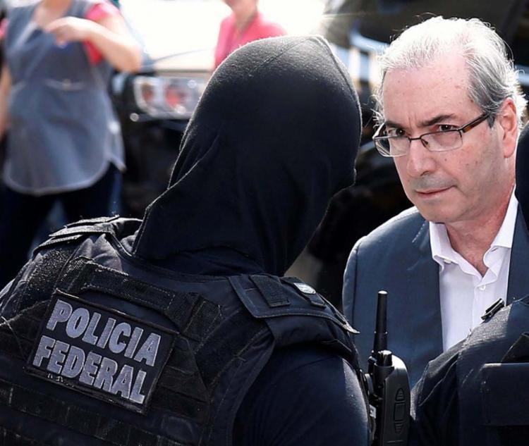 Cunha foi preso no dia 9 de outubro acusado de receber propina - Foto: Rodolfo Buhrer | Agência Reuters