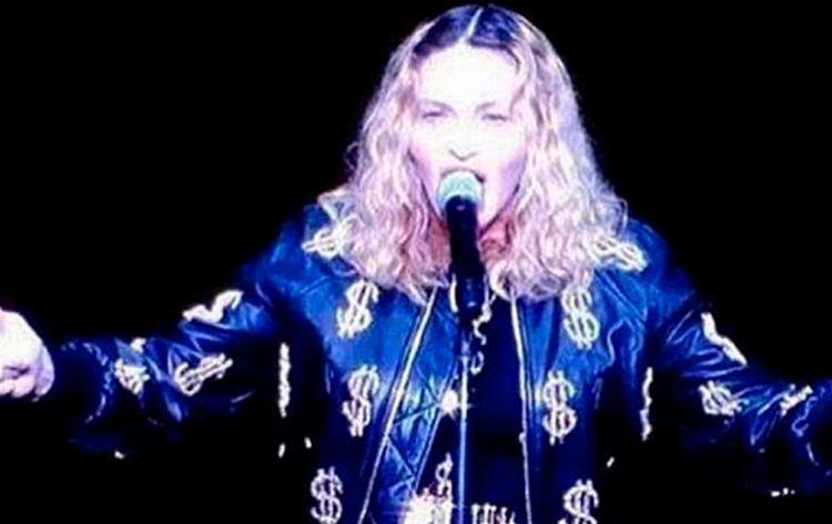 Cantora brincou com público do Madson Square Garden na noite de terça-feira, 18 - Foto: Reprodução