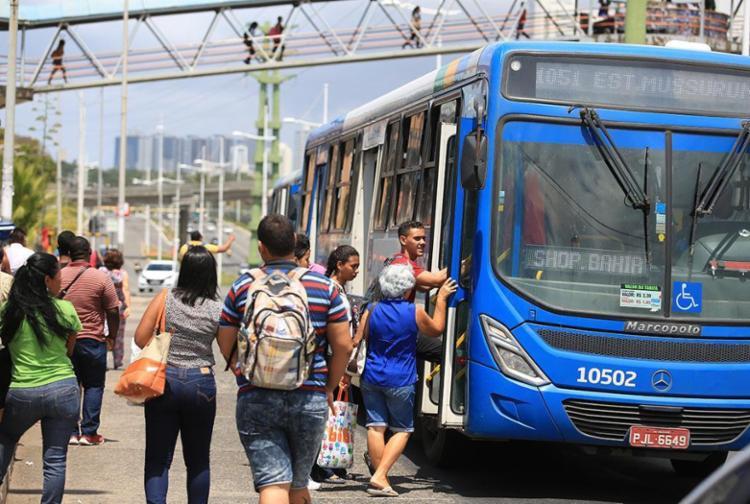 Frota já conta com 148 veículos distribuídos em 21 linhas - Foto: Joá Souza   Ag. A TARDE