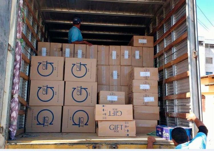 Carga era transportada sem documentação fiscal - Foto: Sefaz-BA | Divulgação