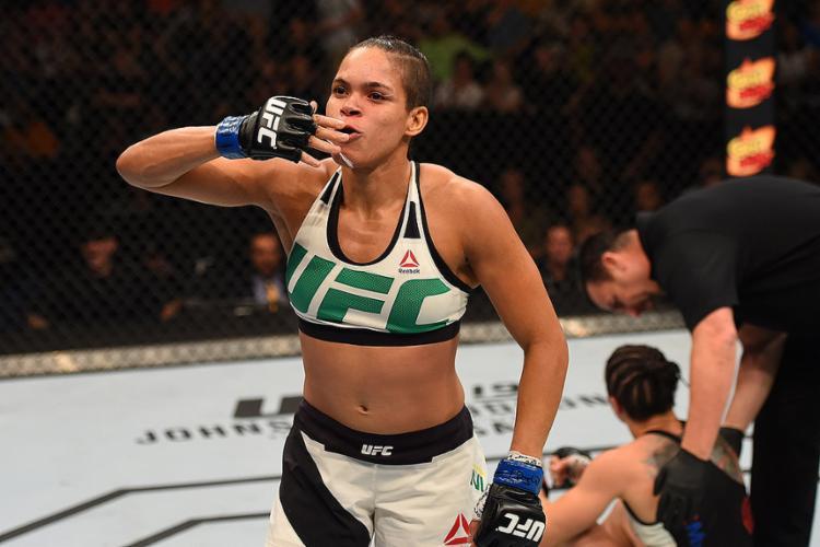 Amanda 'Leoa' Nunes, lutadora de UFC - Foto: Josh Hedges l Zuffa LLC l Getty Images