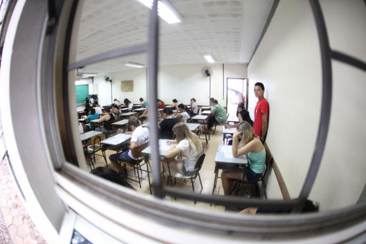 Este é o quarto e último simulado que ocorre antes das provas - Foto: Samuel Costa   Estadão Conteúdo   04.11.2012