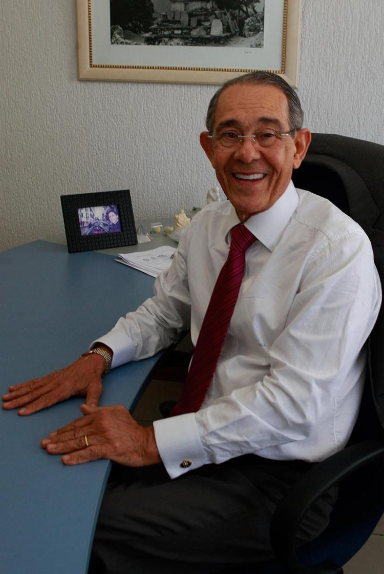Adeildo Osório de Oliveira, presidente da Academia Baiana de Ciências Contábeis - Foto: Xando Pereira l Ag. A TARDE