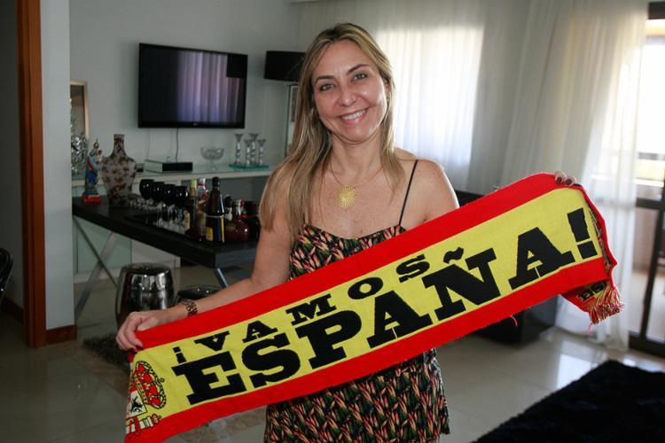 Miriam Boullosa preside entidade de espanhóis no Brasil - Foto: Luciano da Matta l Ag. A TARDE