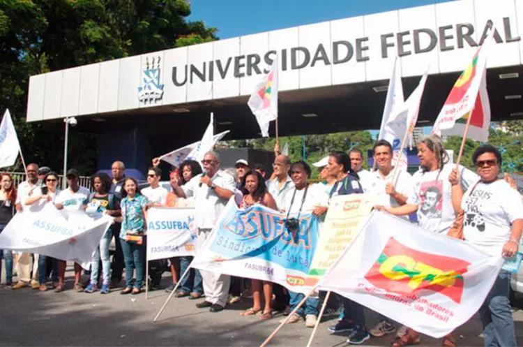 Trabalhadores são contra congelamento de investimento em saúde e educação - Foto: Carlos Américo Barros | Divulgação | Ascom Assufba