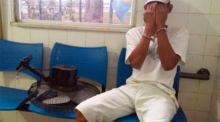 Wanderlei negou que tenha furtado objeto - Foto: Reprodução | Giro em Ipiaú
