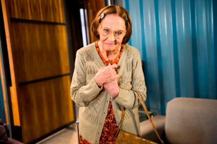 A atriz de 89 anos vive a principal vilã da novela - Foto: João Miguel Júnior | TV Globo