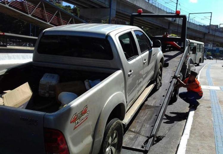 Veículo foi roubado em Pirajá - Foto: Joa Souza | Ag. A TARDE
