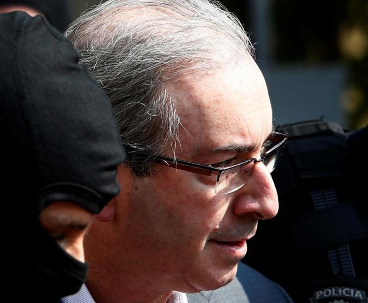 Eduardo Cunha é acusado na Lava Jato de receber propinas por contrato da Petrobrás - Foto: Rodolfo Buhrer   Agência Reuters