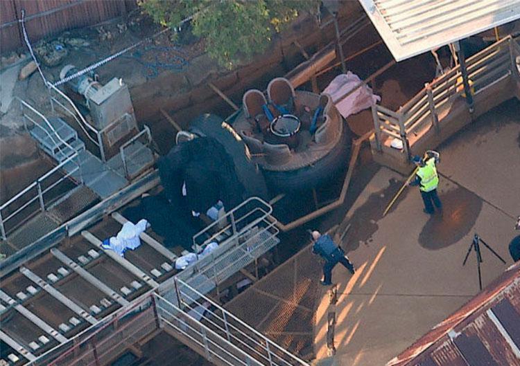 Acidente aconteceu em atração voltada para toda família - Foto: AAP | Dan Peled | via Agência Reuters