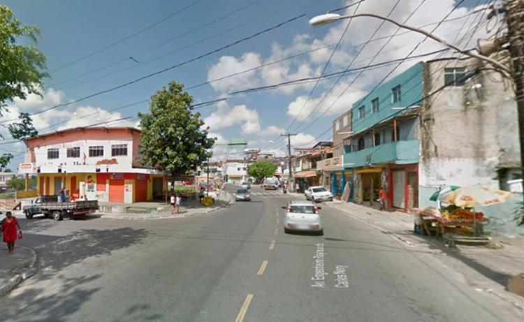 O acidente foi na avenida Engenheiro Raymundo Carlos Nery, na Boca da Mata - Foto: Reprodução   Google Maps