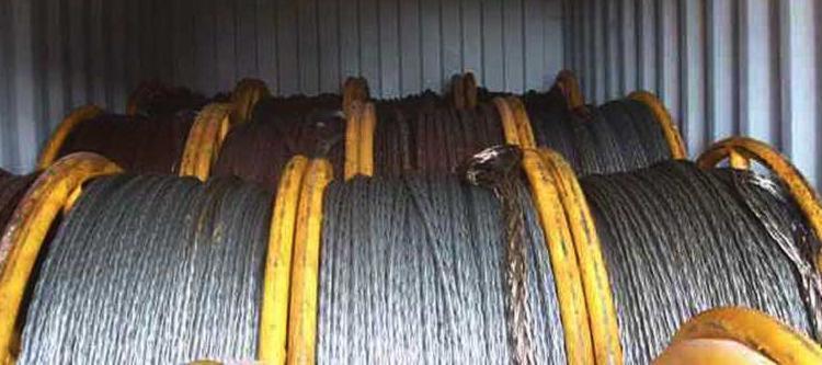 São mais de 5 mil toneladas de cabos - Foto: Ascom | Receita Federal