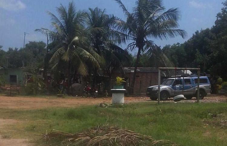 Local onde o crime aconteceu - Foto: Cidadão Repórter | Whatsapp