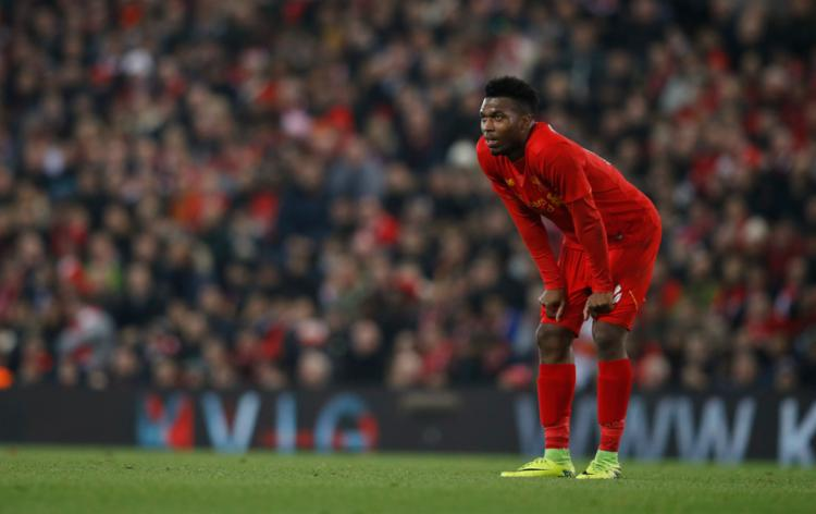 Sturridge fez dois na vitória do Liverpool contra o Tottenham - Foto: Phil Noble | Reuters
