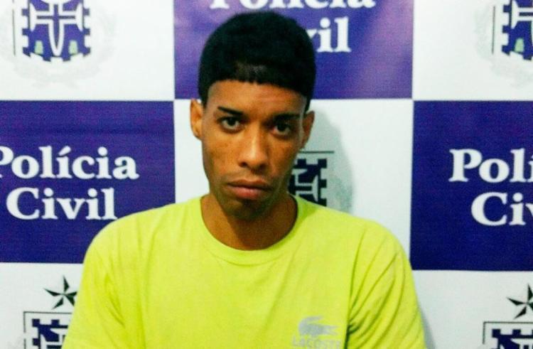 Riachão foi preso na casa da tia - Foto: Divulgação   Polícia Civil