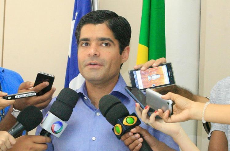 ACM Neto só vai divulgar nomes de novo secretariado após aprovação da reforma - Foto: Luciano da Matta | Ag. A TARDE 13.10.2016