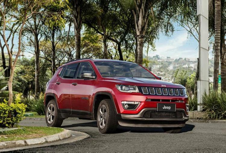 O SUV fica entre o Renegade e o Cherokee; ganha tecnologia e itens de segurança e conforto - Foto: Divulgação