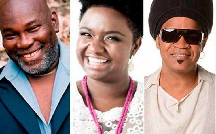 O concerto é composto por Lazzo Matumbi, Elen Oléria e Carlinhos Brown - Foto: Divulgação