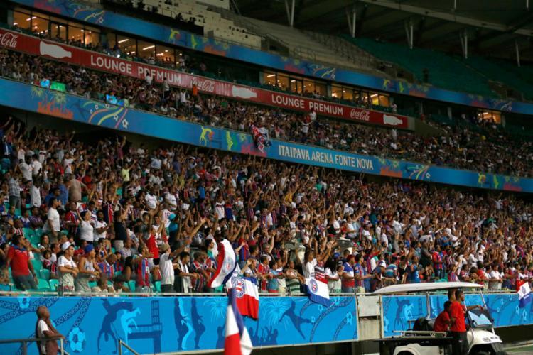 Bahia faz promoção no valor dos ingressos para lotar a Fonte - Foto: Felipe Oliveira | EC Bahia
