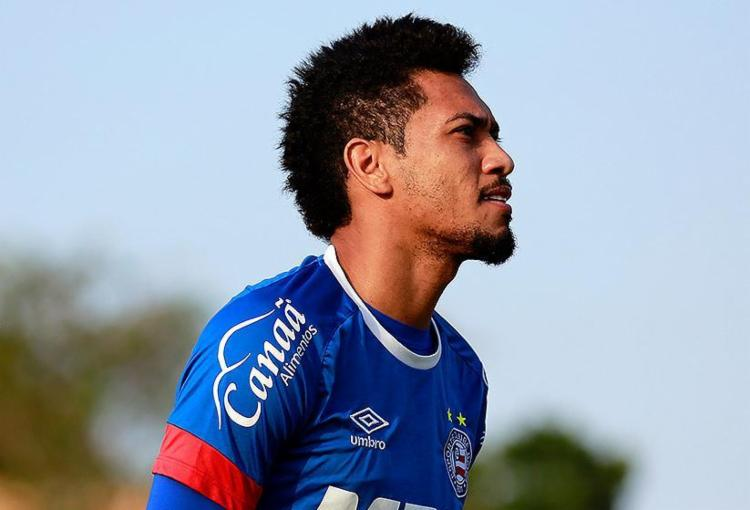 Camisa 9 foi titular em 19 dos 20 jogos da era Guto Ferreira - Foto: Felipe Oliveira l EC Bahia