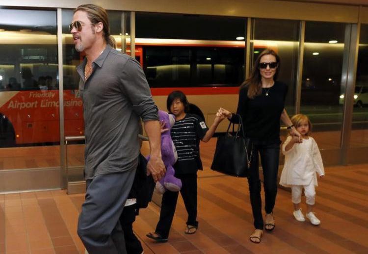 Brad Pitt teria se excedido numa briga com o filho Maddox, de 15 anos - Foto: Issei Kato   Ag. Reuters