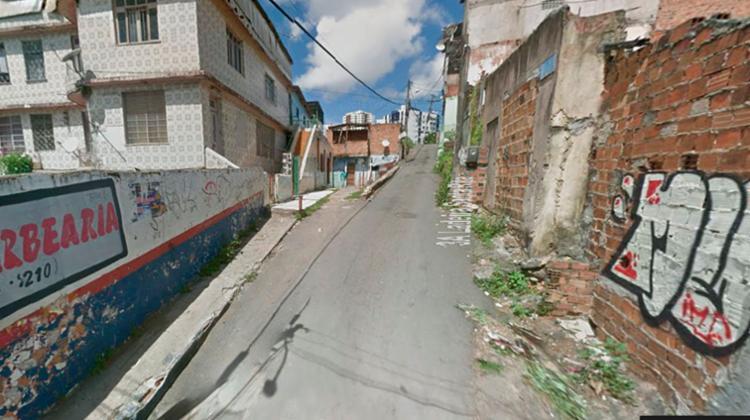 O crime aconteceu na terceira ladeira da Santa Rita no Matatu de Brotas - Foto: Reprodução   Google Maps