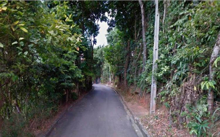 Os dois homens foram encontrados em um matagal na rua Coronel Milton de Sá - Foto: Google Maps | Reprodução
