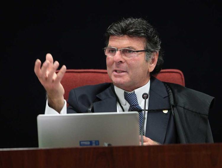 Ministro Luiz Fux - Foto: Rosinei Coutinho/SCO/STF / Divulgação