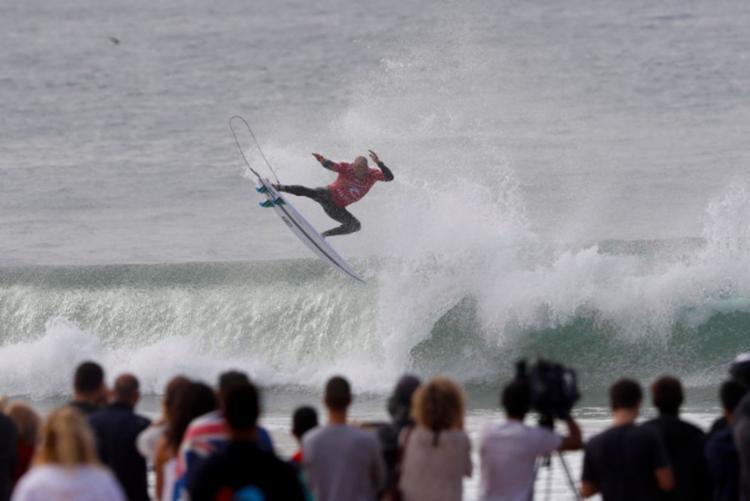 Slater venceu apenas uma etapa nesta temporada - Foto: Reprodução | Facebook | Kelly Slater