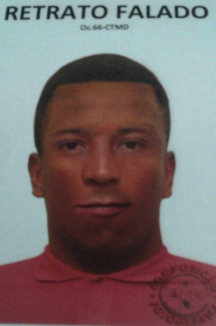 Retrato falado do suspeito foi divulgado pela Polícia Civil - Foto: Divulgação