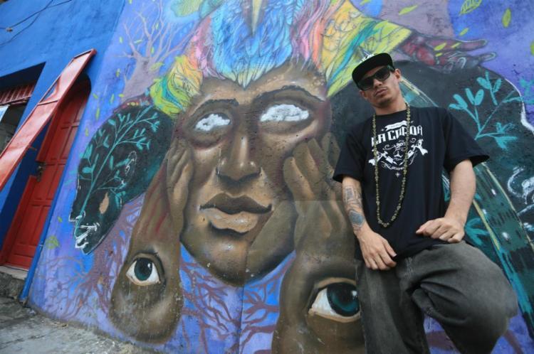 O rapper Elvis Kazpa, 30, fundou a produtora Canal Dado, que fomenta o mercado local de shows - Foto: Joá Souza | Ag. A TARDEA