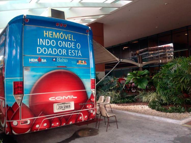 O serviço estará disponível nos dias 1º, 3 e 4 de novembro das 8h às 17h - Foto: Divulgação   Salvador Shopping