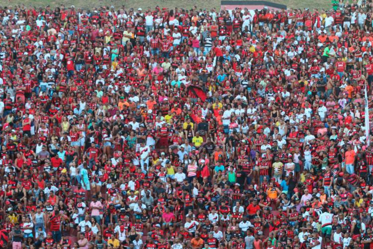 Os ingressos começaram a ser vendidos nesta segunda, 31 - Foto: Francisco Galvão | EC Vitória