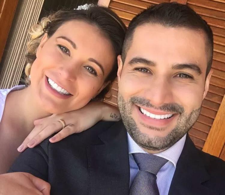 Urach se casou novamente com Tiago Costa - Foto: Arquivo Pessoal